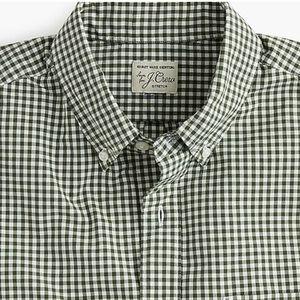 J.Crew Slim stretch shirt in gingham poplin